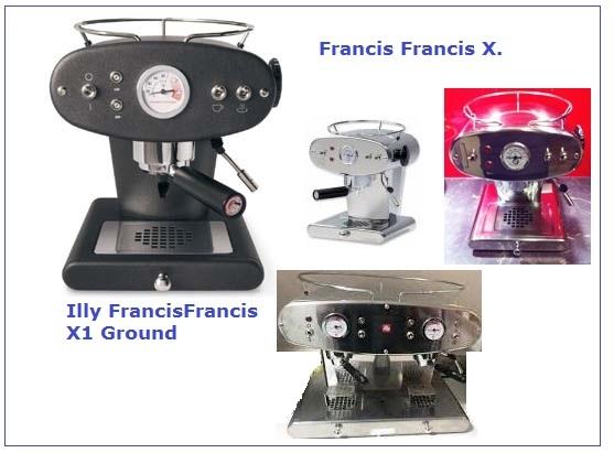 Francis Francis - www.Kaffeeshop-Hamm.de