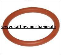 O-RING DICHTUNG 03281 AUS  SILIKON rot